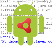 debug mobile device icon android air